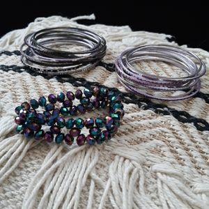 Jewelry - 🖐$3🖐 purple bracelets